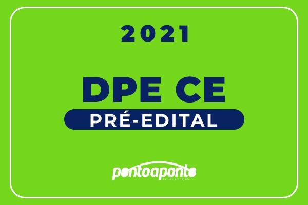 DPE CE Pré-Edital