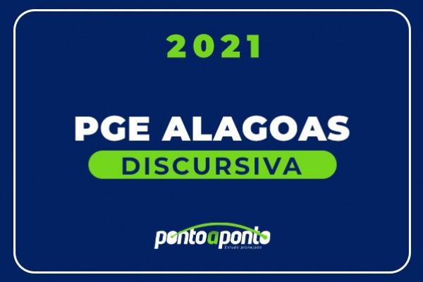 Discursiva PGE Alagoas - SEGUNDA ENTRADA