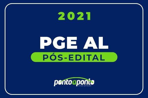 PGE AL - Pós Edital