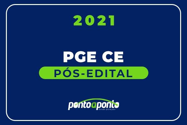 PGE CE - Pós Edital