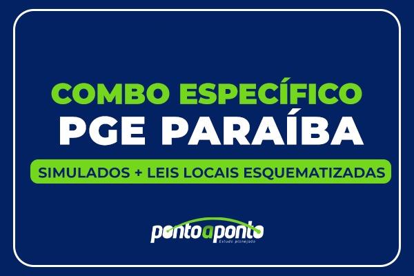 PGE PB (Simulados + Legislação local)