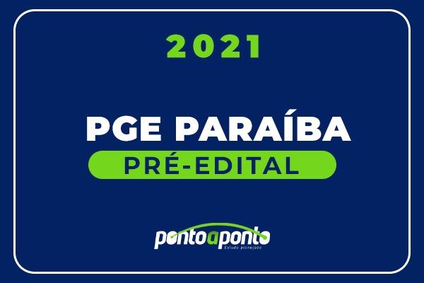PGE Paraíba - 2021